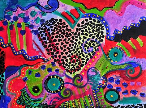 Leopard Heart by Laura Fung