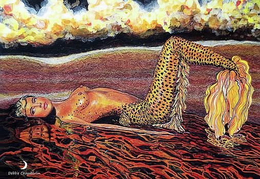 Leopard Mermaid by Debbie Chamberlin