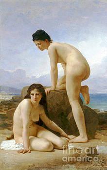 Les Deux Baigneuses 1884 by Padre Art