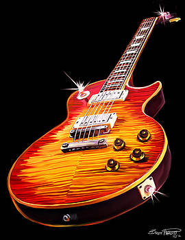 Les Paul Guitar by Brett Hardin