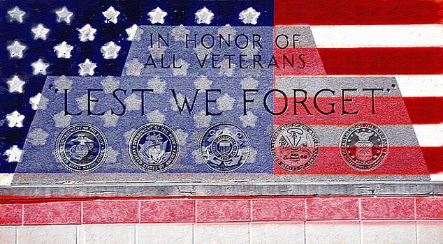 Steve Ohlsen - Lest We Forget with Flag Graphic