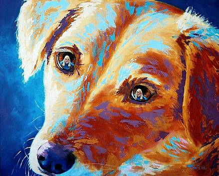 Let Me Be the Person My Dog Thinks I Am by Lynee Sapere
