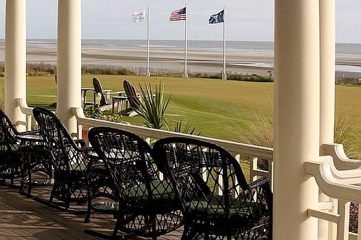 Rosanne Jordan - Lets Dine Outside at the Ocean Course