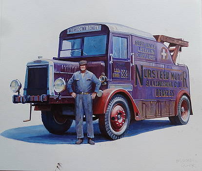 Leyland wrecker 1930. by Mike  Jeffries