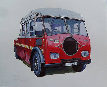 Leyland wrecker CIE by Mike Jeffries