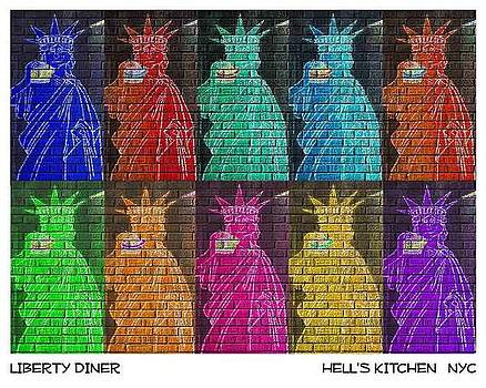 Liberty Diner by New York City Artist - Alexander Aristotle