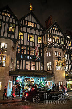 Liberty of London Out Front Night by Mike Reid