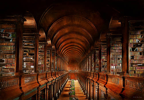 Mike Savad - Library - The long room 1885