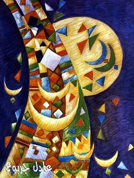 Libyan traditional touches 4 by Adel Jarbou