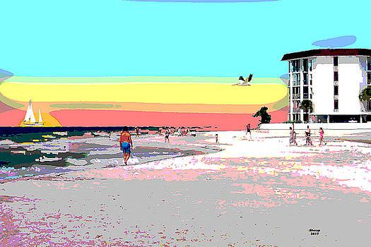 Lido Beach Sarasota by Charles Shoup