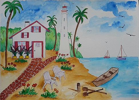 Life By the Sea by Karleen Kareem