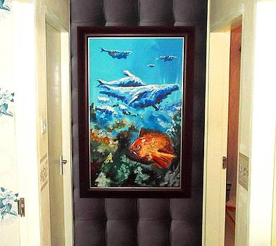 Life under water by David Aruna