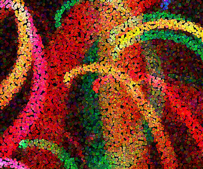 Light and Color Abstract - 12 by Michael Dykstra