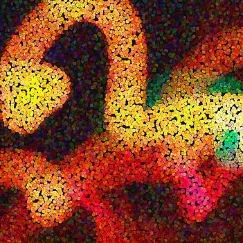 Light and Color Abstract - 5 by Michael Dykstra