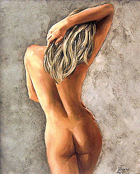 Light and nudity by Natalia Tejera