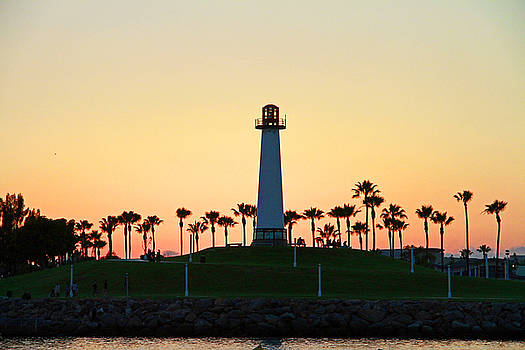 Light House at Sunset by Shoal Hollingsworth