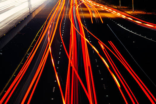 Light Trails by Garry Gay