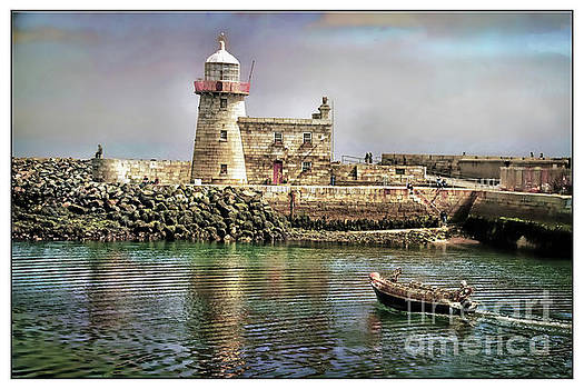 Lighthouse at Howth, Ireland by Norma Warden