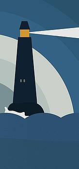 Frank Tschakert - Lighthouse At Night