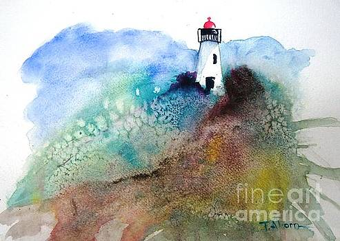 Lighthouse II - original sold by Therese Alcorn