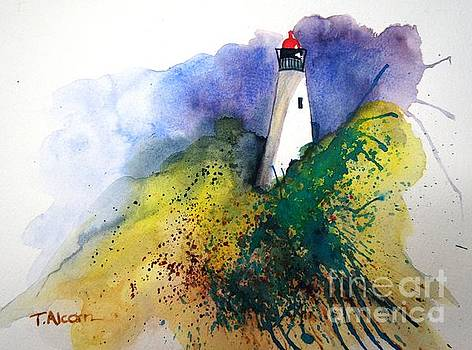Lighthouse III - original sold by Therese Alcorn