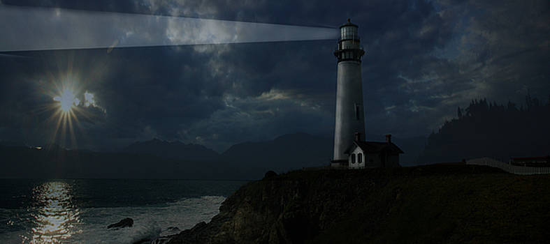 Lighthouse by Jeff Burgess