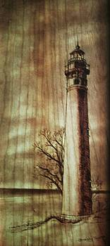 Lighthouse On The Lake by Freddy  Smith