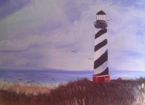 Lighthouse by Rosemary Mazzulla