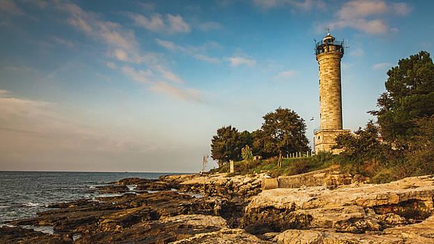 Lighthouse Savudrija by Davorin Mance
