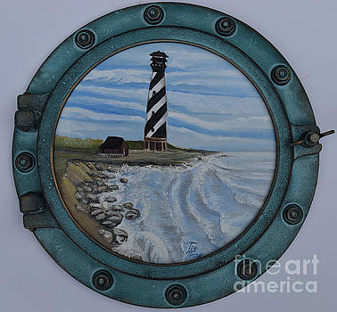 Lighthouse by Toni  Thorne