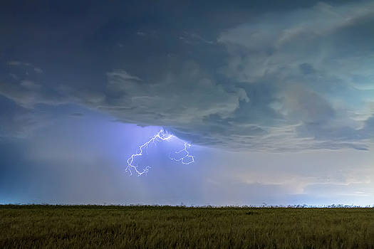 Lightning Clawing Out Of The Sky by James BO Insogna
