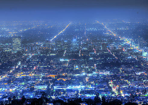 Lights of Los Angeles by Zoe Schumacher