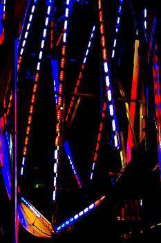 Lights of the Ferris Wheel by Dana  Oliver