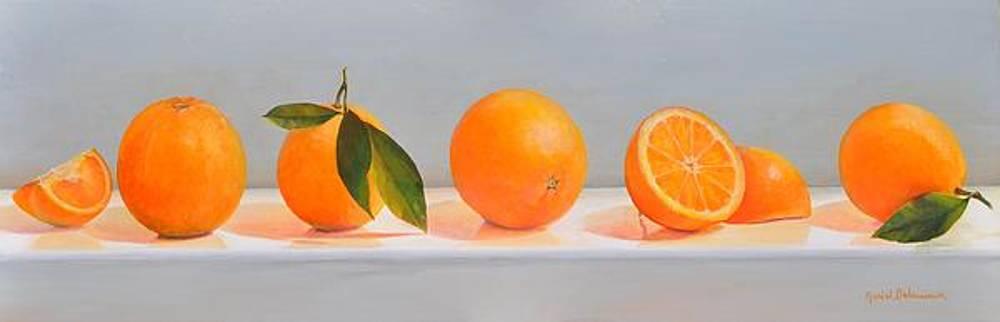 Ligne d Oranges 2 by Muriel Dolemieux