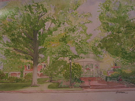 Ligonier Pa Gazebo by David Bartsch