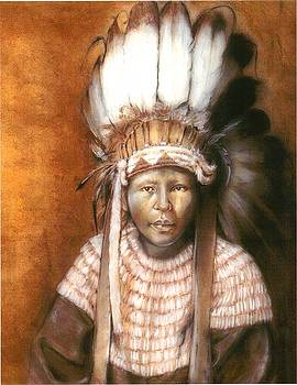 Lil Indian by Cecill Woods