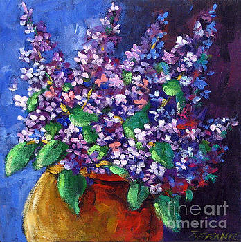 Lilacs Bouquet by Prankearts by Richard T Pranke
