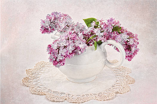 Lilacs in Creamer by Vicki McLead