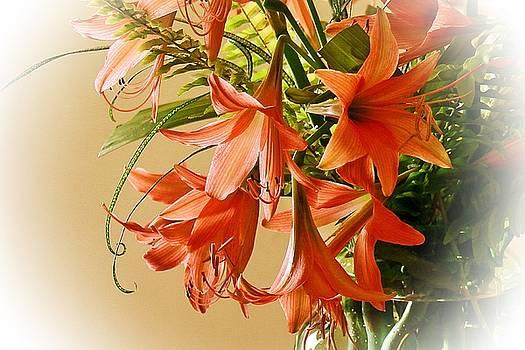 Lilies  by Ajithaa Edirimane