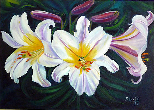 Lilium Regale by Janet Silkoff