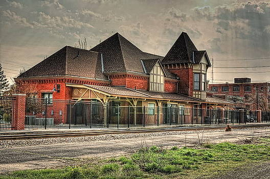 Lima Ohio Train Station by Pamela Baker