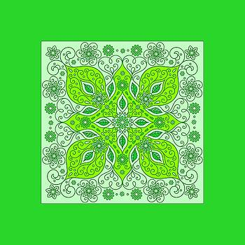 Lime-green festival by Anthony Fishburne