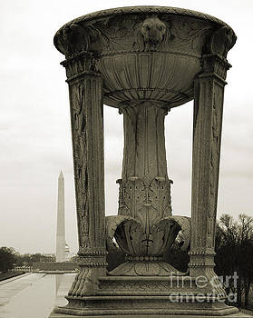 Lincoln to Washington by Angela DeFrias