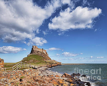 Lindisfarne Castle, Northumberland by Colin and Linda McKie