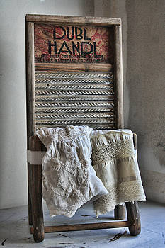 Linen and Lace by Marcie  Adams