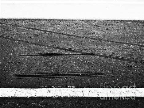Lines on Pavement by Fei A