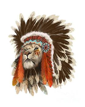 Lion Chief by Sassan Filsoof