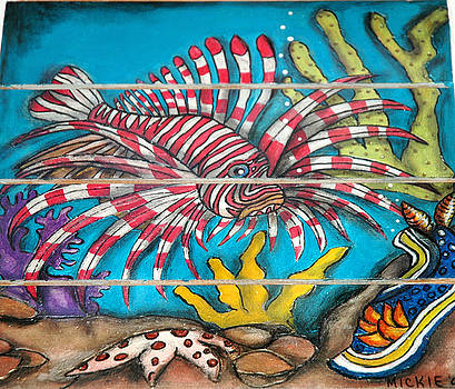 Lion Fish by Mickie Boothroyd