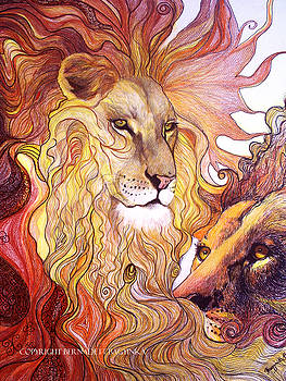 Lion king by Bernadett Bagyinka