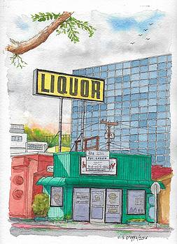 Liquor for lease in Burbank, California by Carlos G Groppa